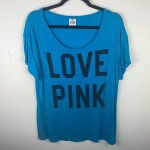 PINK flowy sleep shirt